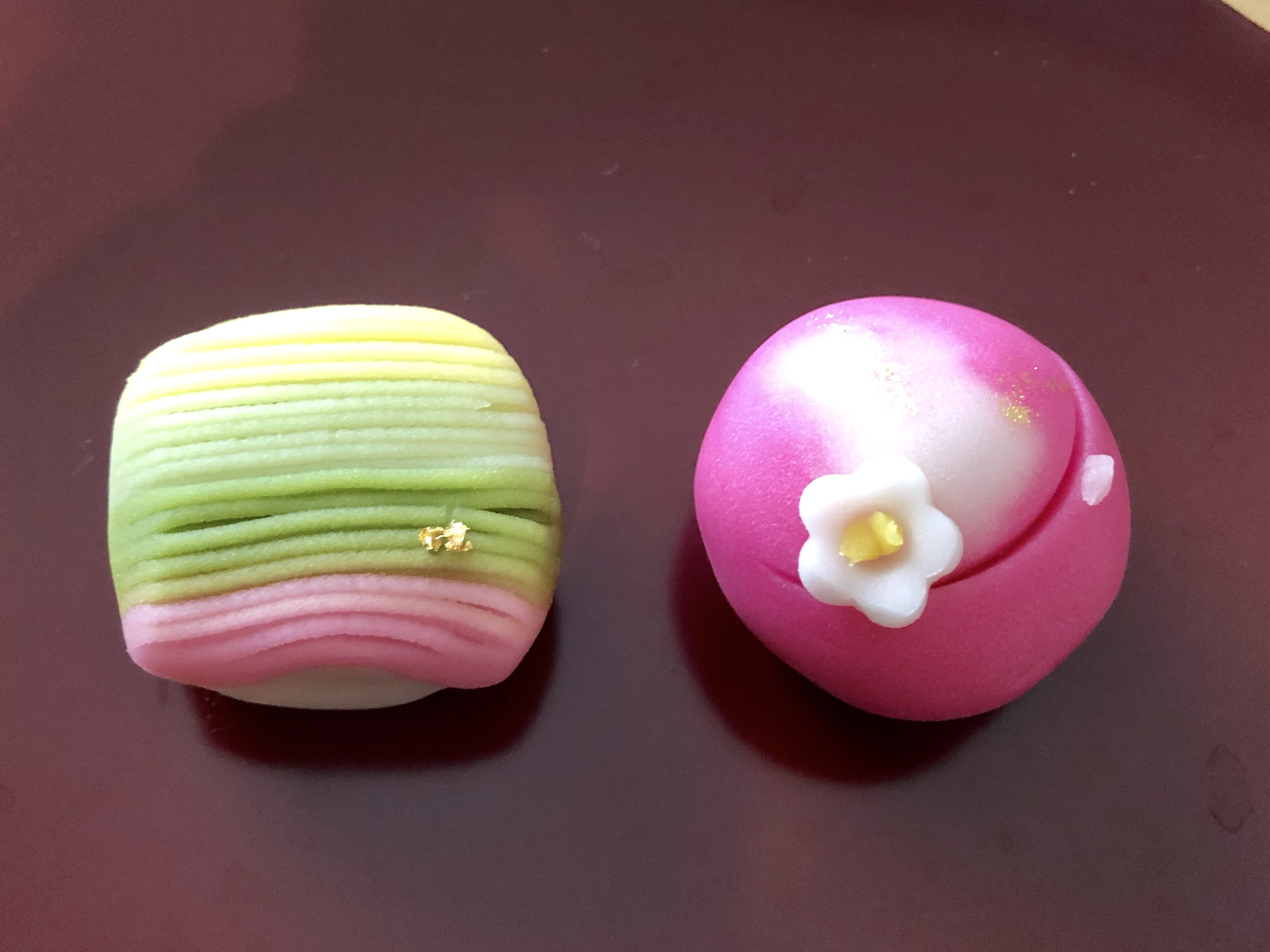 森八の令和の記念の上生菓子